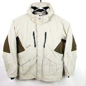 Quicksilver Mens Size Large Ski Jacket Hooded